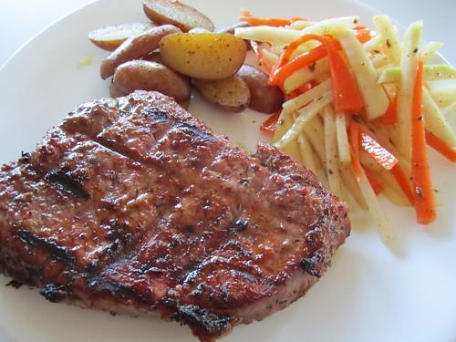 Steak and Potatoes