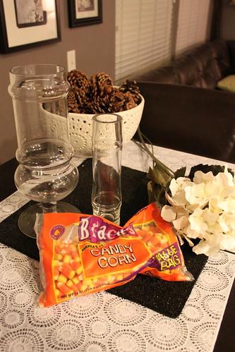 Candy Corn Vase Filler