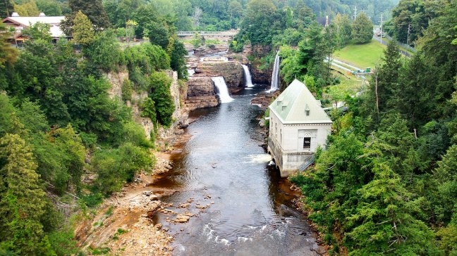 Part of Ausable Chasm