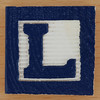 Fridge Magnet Letter L