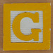 Fridge Magnet Letter G