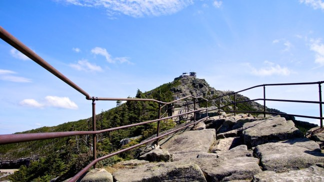 Climb to Whiteface Castle