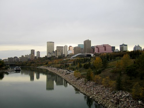 Fall in Edmonton