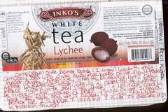 Inko's Lychee white Tea