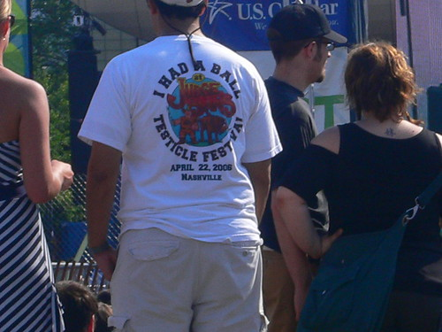Testicle Festival?  Seriously?