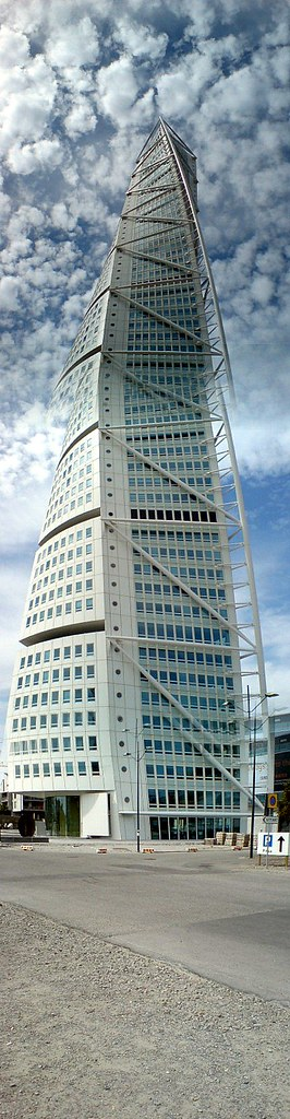 HSB Turning Torso building, Malmo