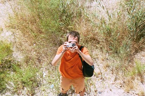 Sebastian and his digital camera