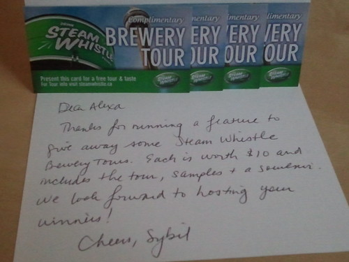 Package #3 - Steam Whistle Brewery Tour Ticket