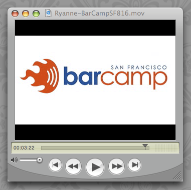 This is BarCamp