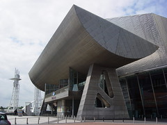 Entrance to The Lowry, Manchester