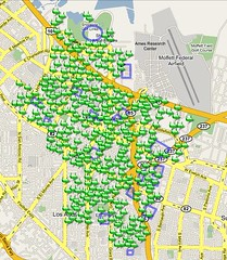 google wireless map