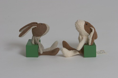 Ecru Bunny meet Ecru Bunny