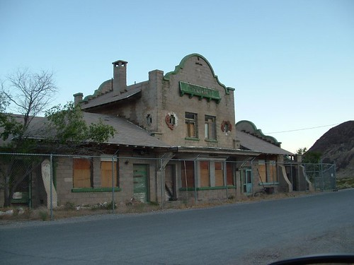 The Station at Rhyolite