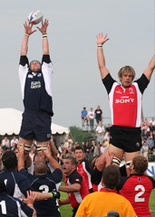 Rugby, XXVI: Line Out