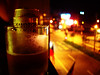 礁溪-三樓小陽台抽菸喝酒