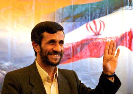 Iranian President Mahmud Ahmadinejad June 2005