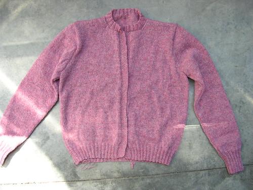 shetland cardigan