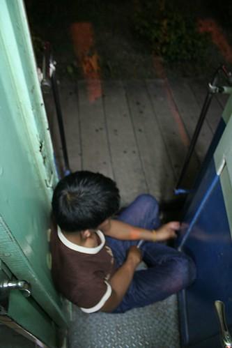 Door seat