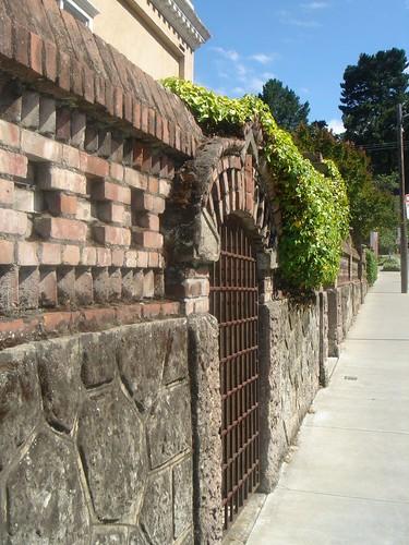 Wall by Caffe Siena