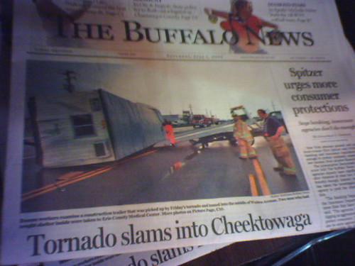 Tornado in Cheektowaga