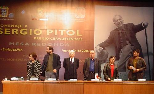 Mesa Literaria sergio Pitol