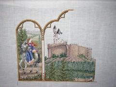 Fantasy Triptych - 1 August 2006 - Progress