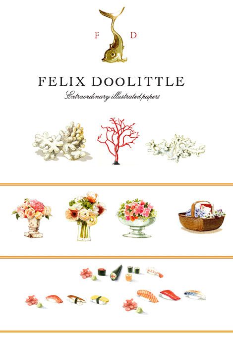 Felix Doolittle Stationery