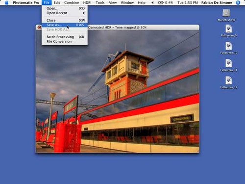 HDR TUTORIAL STEP 12