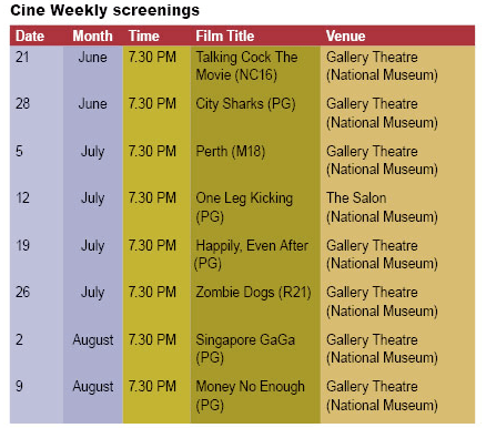 Cine.sg Screenings