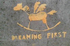 Dreaming first
