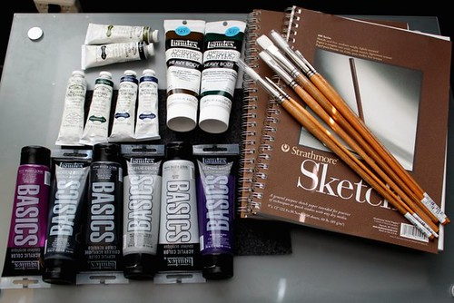 Art Supplies - Reward