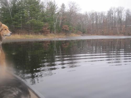 2011-11-25 Breaking Ice for 1 last canoe ride 016