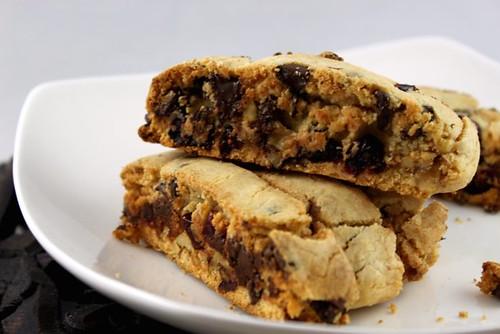 Chocolate Cranberry Walnut Biscotti
