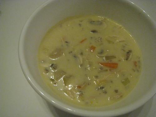 Chicken-Wild Rice Soup
