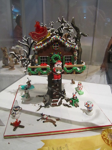 Shaw Conference Centre gingerbread house