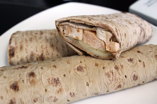 Chicken Wrap w/ Balsamic and White Cheddar