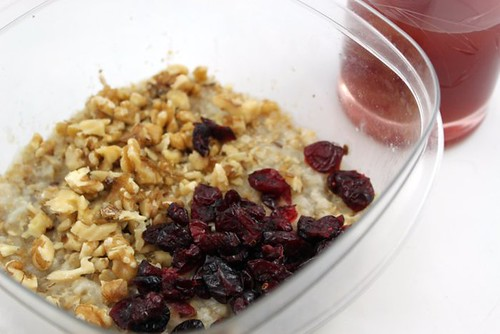 Walnut Fruit Oatmeal