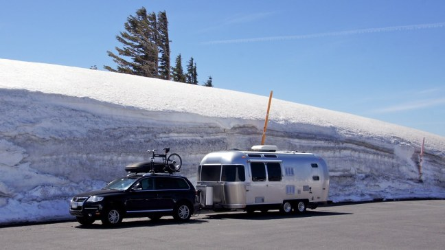 Parking at Timberline Lodge
