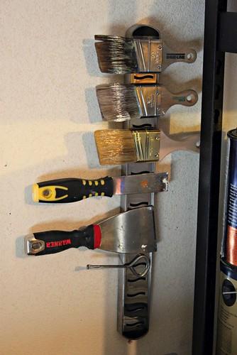 Magnetic Paint Brush Holder