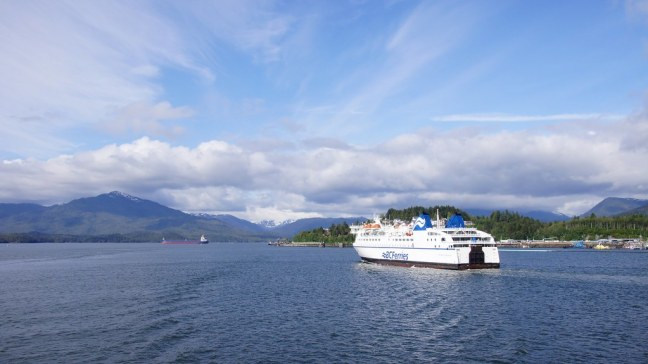 BC Ferries heading other direction
