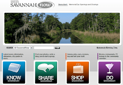 The New Savannah Now