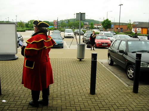 Hobbycraft Nottingham Opening - The Town Crier - Oh Yay!
