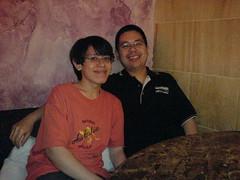 John and I Me before eating