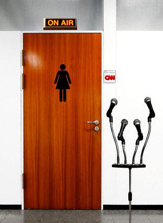 CNN Restroom Gaffe