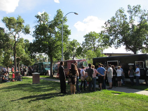 Truck Stop in Old Strathcona - June 27