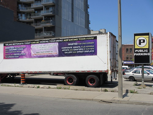 Parking lot seeks truck