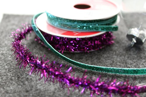 Ribbon Filled Holiday Ornament