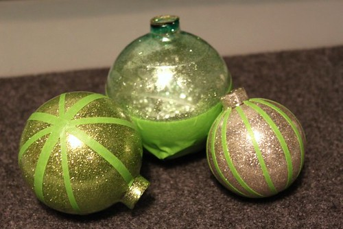 Glitter Stripe Ornament