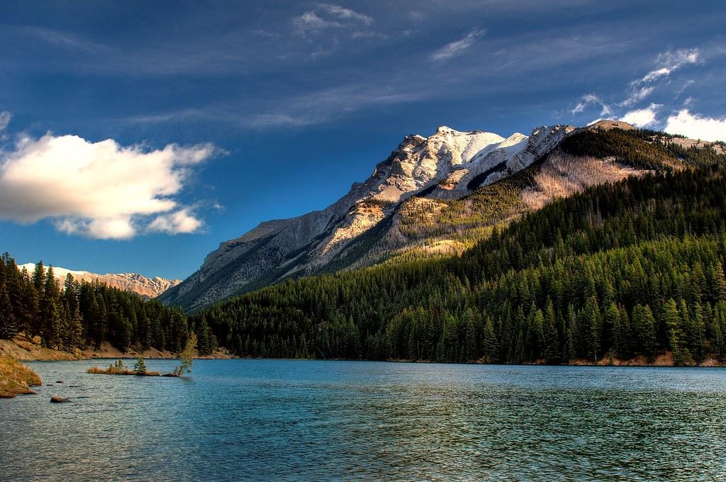 Two Jack Lake and Mount Inglismaldie
