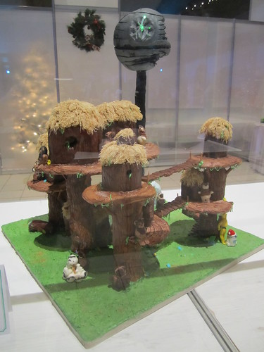 Ewok gingerbread house